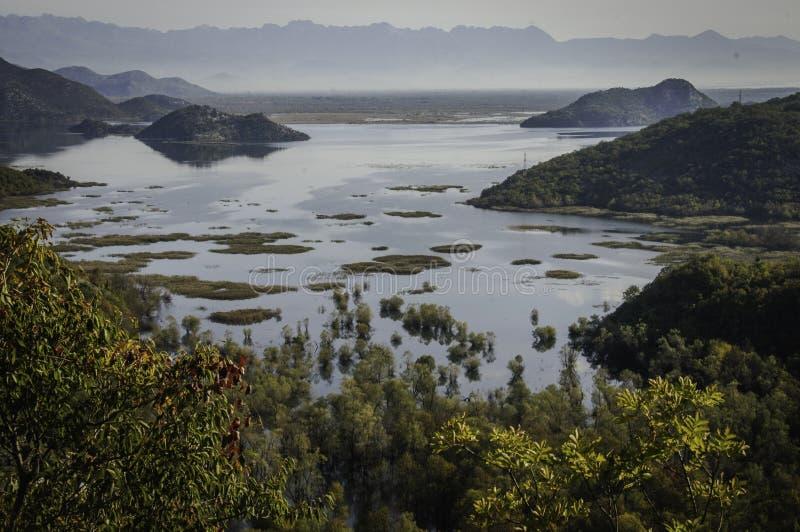 Lac Skadar image libre de droits
