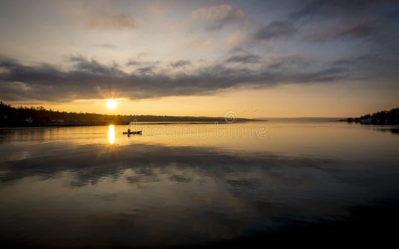 Lac Skaneateles photo stock