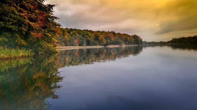 Lac Soroe Danemark images libres de droits