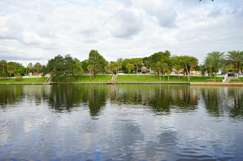 Lac spring de tarpon photo stock