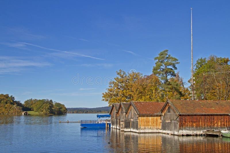 Lac Staffelsee images libres de droits