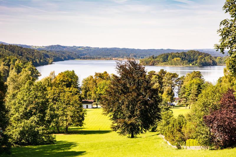 Lac Staffelsee photos stock