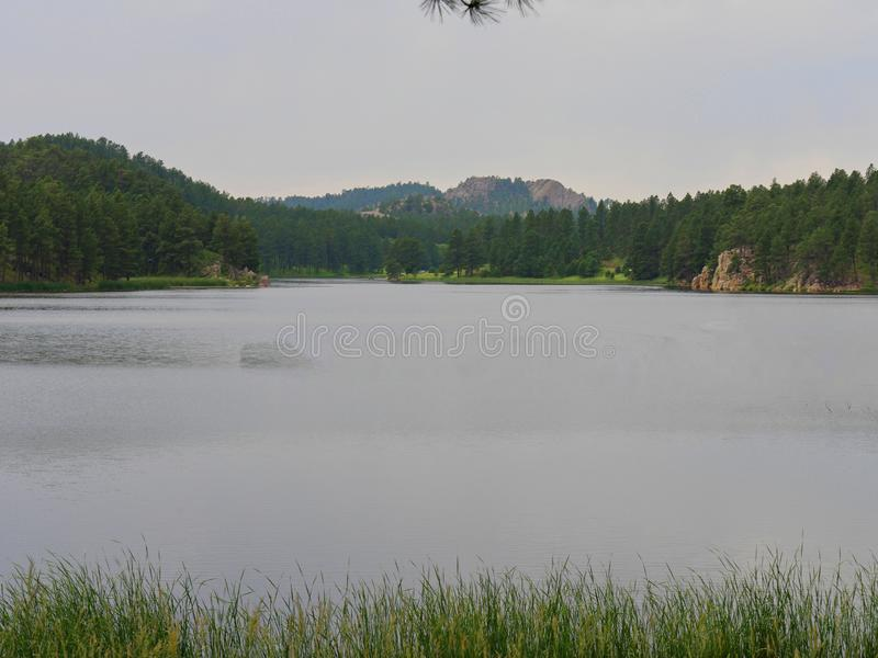Lac stockade, Custer State Park, le Dakota du Sud photo stock