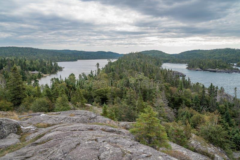 Lac supérieur photographie stock