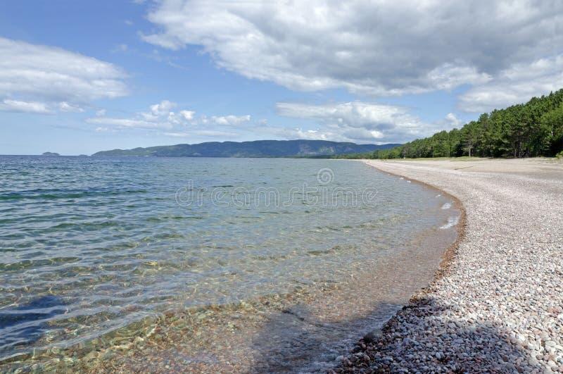 Lac supérieur image stock