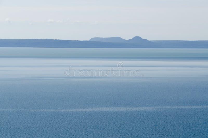 Lac supérieur photo stock