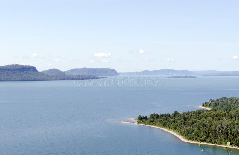 Lac supérieur photographie stock libre de droits
