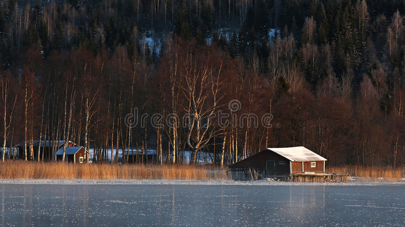 Lac sweden images stock