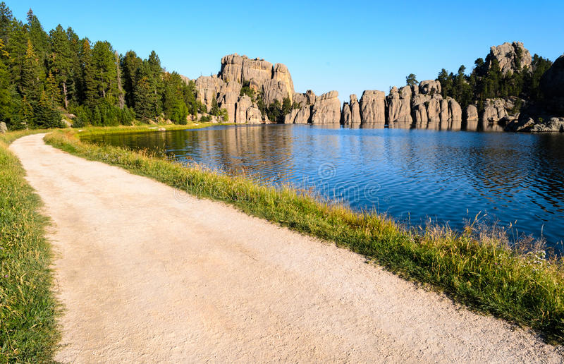 Lac sylvain photo libre de droits