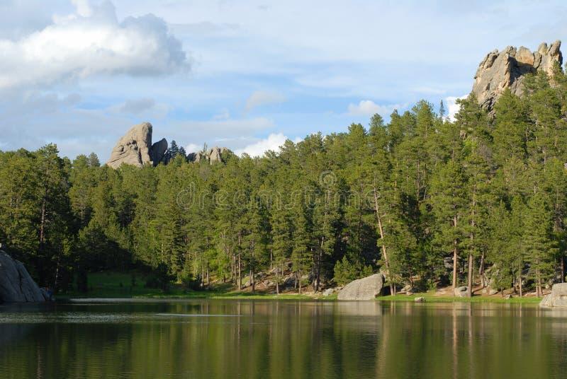 Lac sylvain image libre de droits