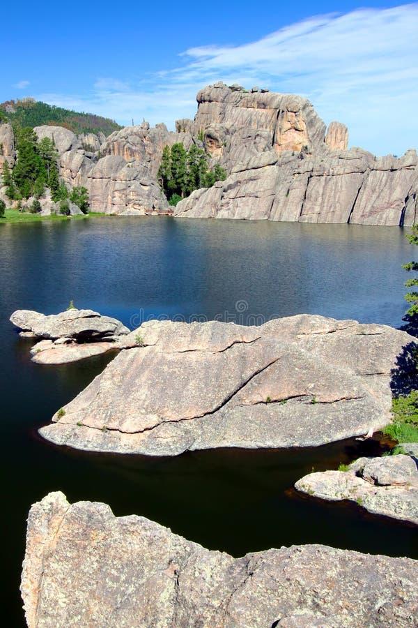 Lac sylvain - le Dakota du Sud images libres de droits