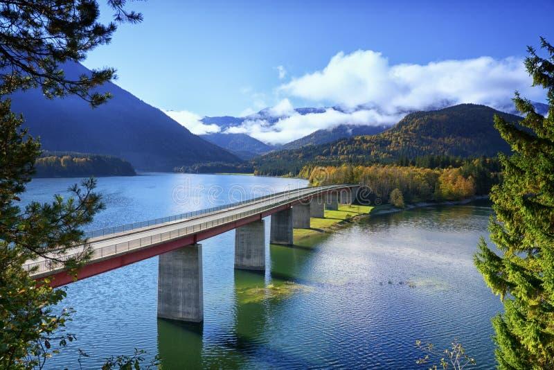 Lac Sylvenstein photos libres de droits