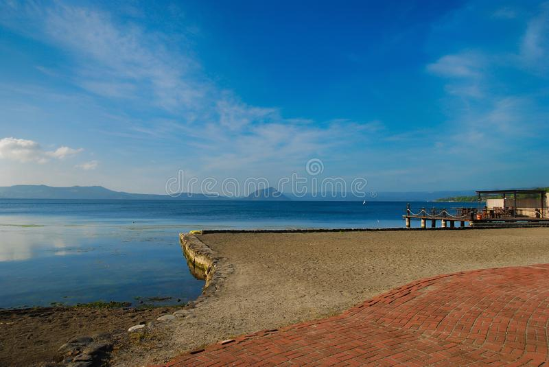 lac taal photographie stock