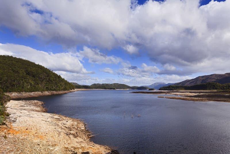 Lac tasmania Burbery images libres de droits