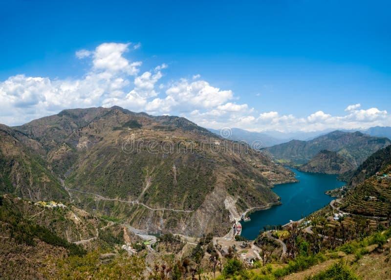 Lac Tehri photographie stock libre de droits