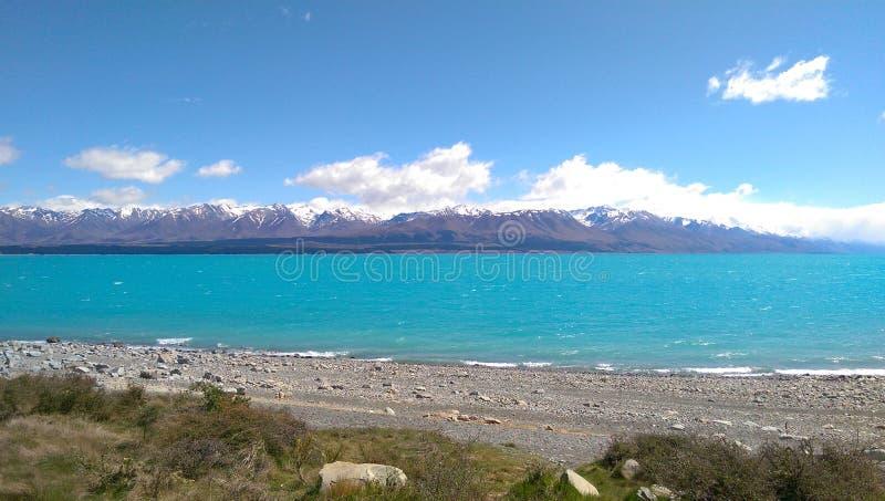 Lac Tekapoo photographie stock libre de droits
