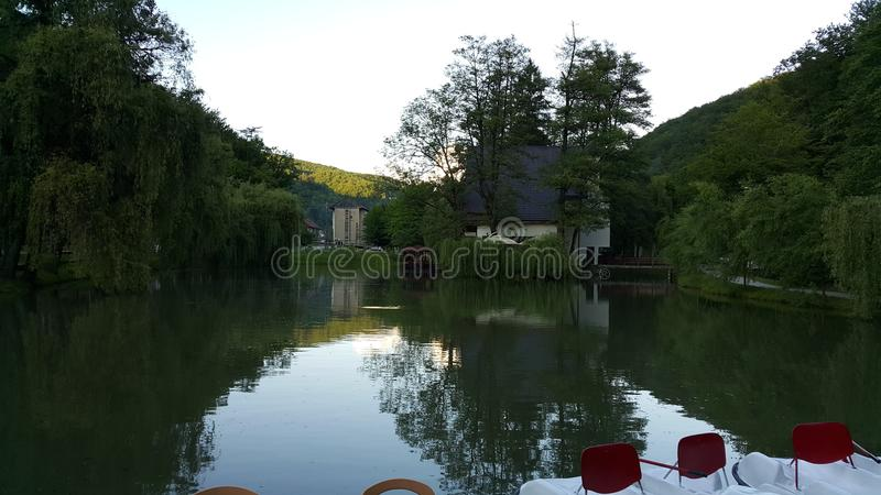 Lac tranquille photos stock