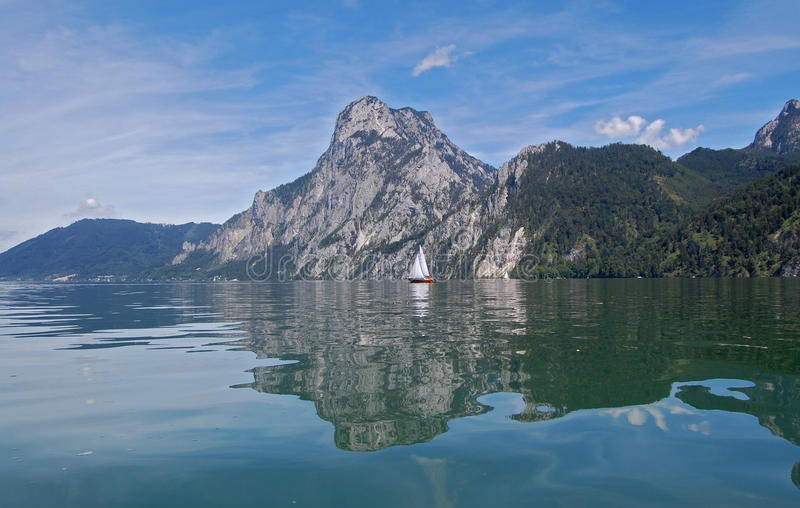 Lac Traunsee photo stock