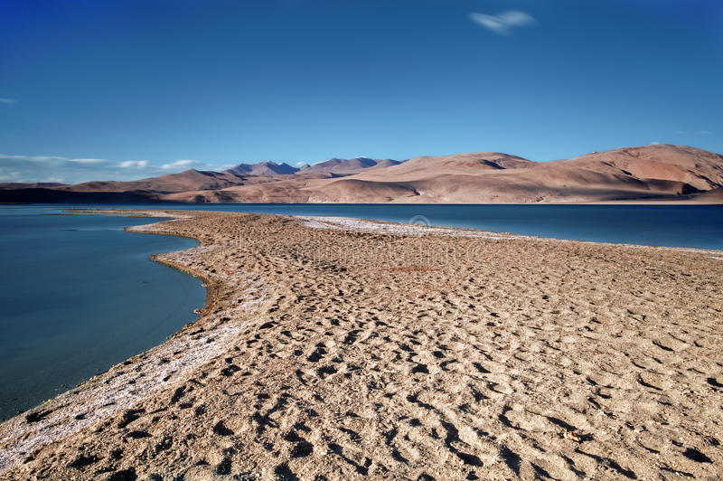 Lac TSO-Moriri images stock