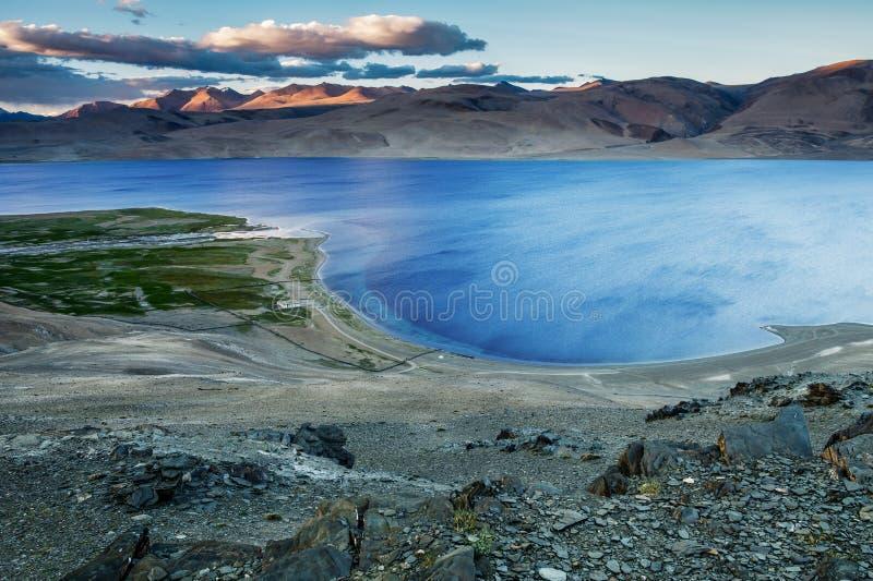 Lac TSO-Moriri photos libres de droits