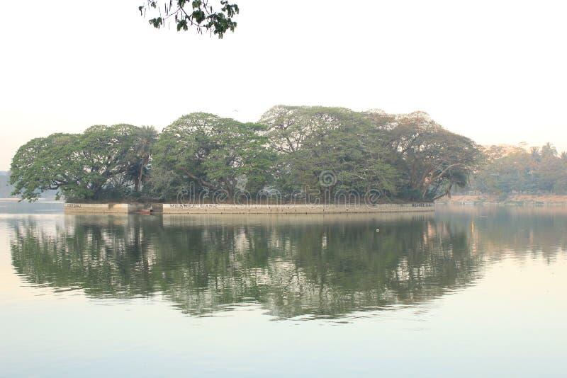 Lac Ulsoor photographie stock