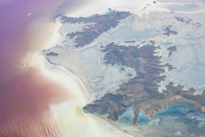 Lac Urmia images stock