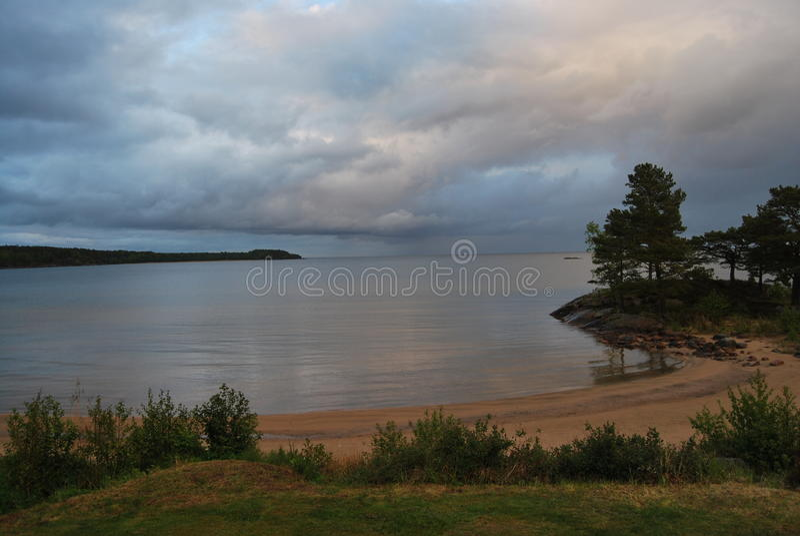 Lac vänern photographie stock libre de droits
