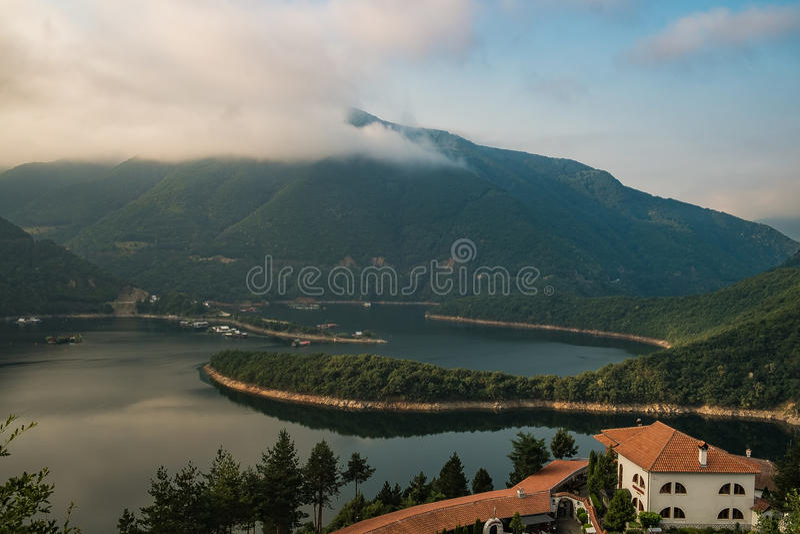 Lac Vacha photo stock