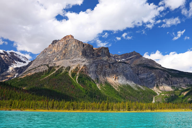 Lac vert - Canada photographie stock
