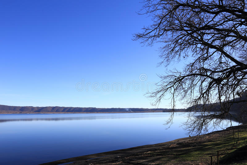 Lac Vico photographie stock