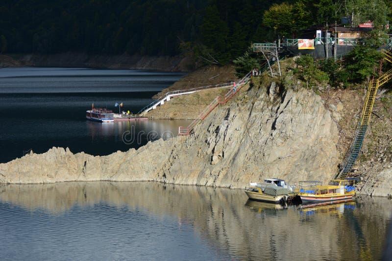 Lac Vidraru image libre de droits