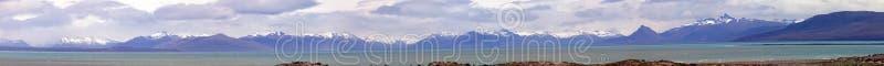 Lac Viedma, Patagonia près de la frontière entre l'Argentine et le Chili photos stock