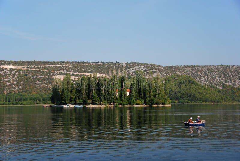 Lac Visovac photos stock