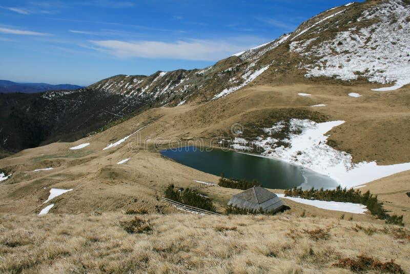 Lac Vulturilor images libres de droits