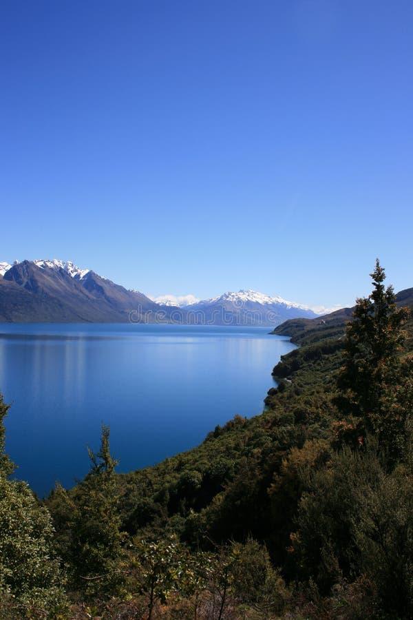 Lac Wakatipu, Queenstown photos stock