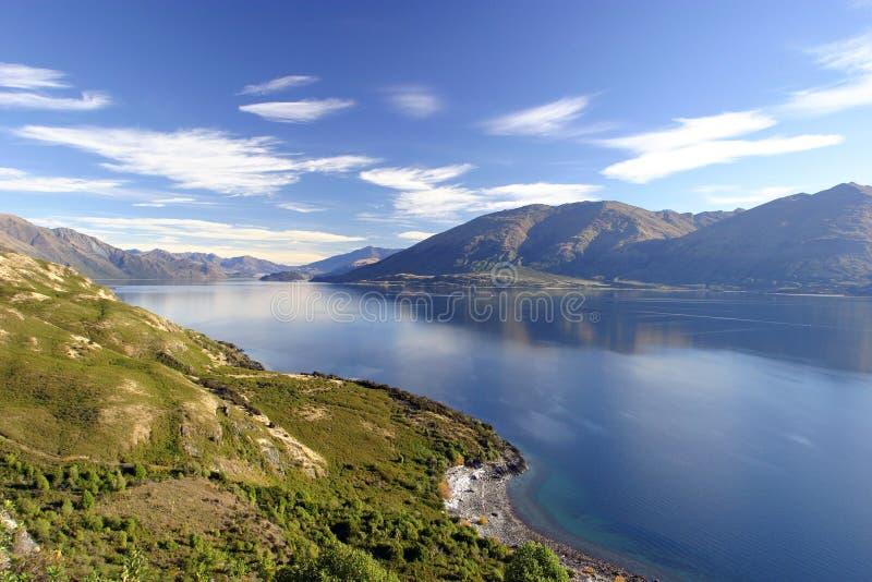 Lac Wanaka photo libre de droits