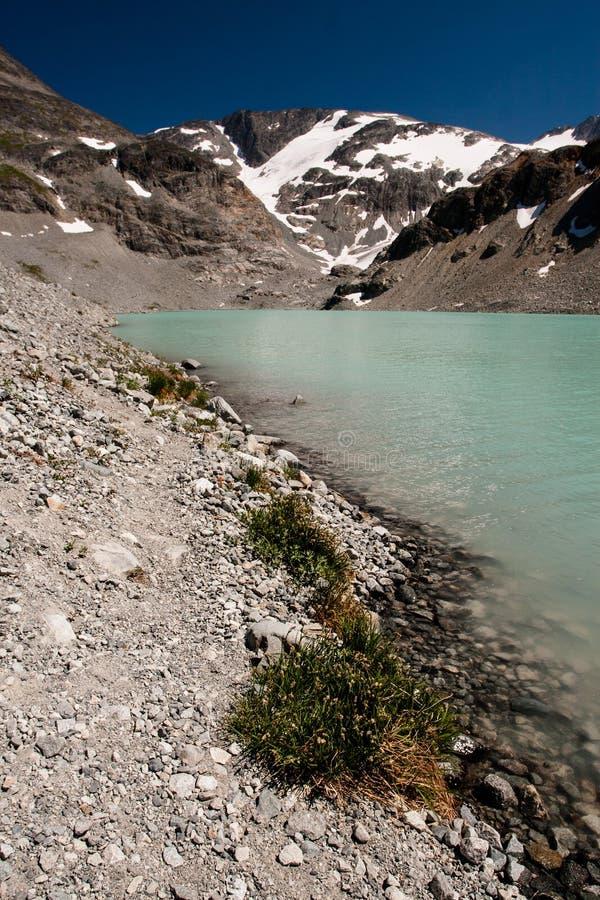 Lac Wedgemount photo libre de droits