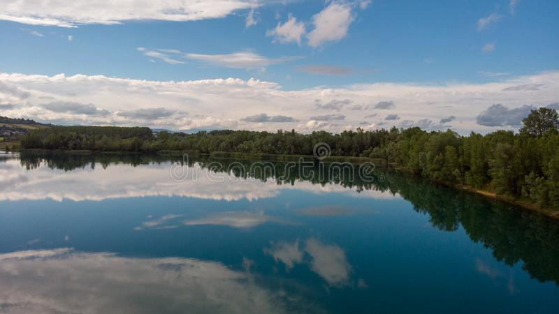 Lac Wonderfull photographie stock libre de droits