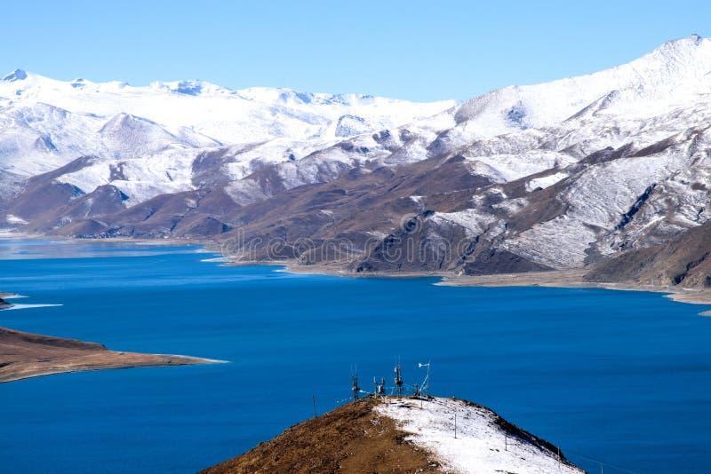 Lac Yamdork images libres de droits