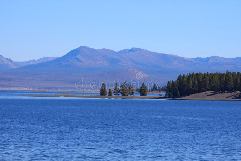 Lac Yellowstone photographie stock libre de droits