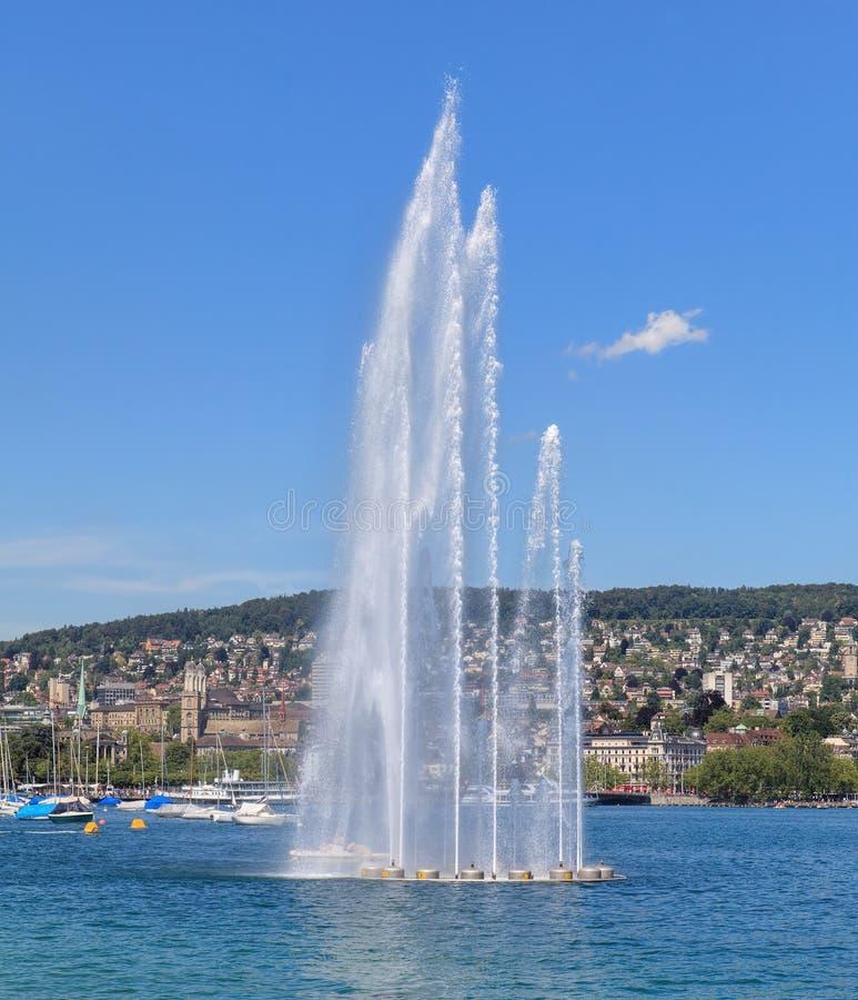 lac Zurich image libre de droits