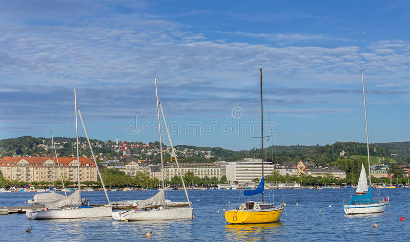 lac Zurich image stock