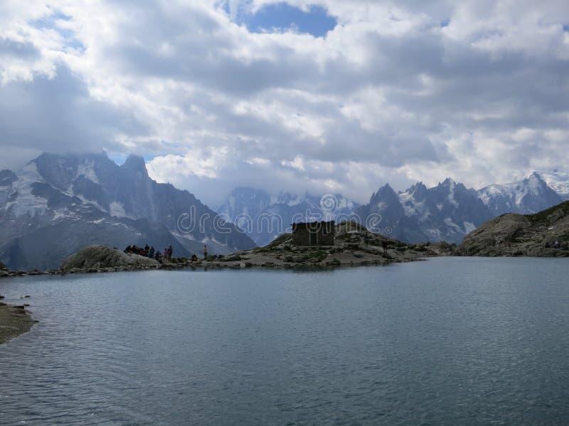 Laca Blanc en verano foto de archivo libre de regalías