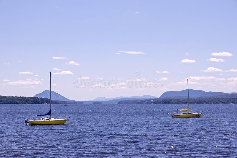 Laca Memphremagog - Quebec imagen de archivo libre de regalías