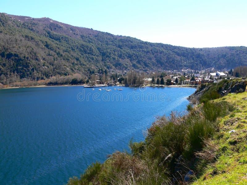 lacar λίμνη στοκ εικόνα