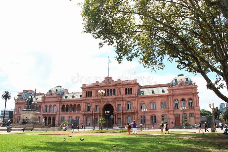 LaCasa Rosada Buenos Aires Argentina royaltyfria foton