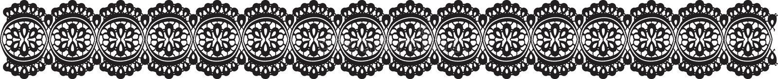 Download Lace stock vector. Image of flower, crochet, cotton, decorative - 22823143