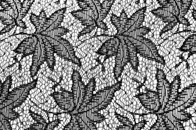 LACE. Canon EOS 20D. Structure of a lacy fabric stock image