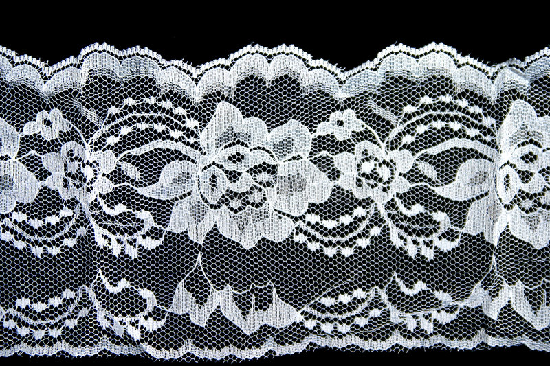 Lace. Detail of lace