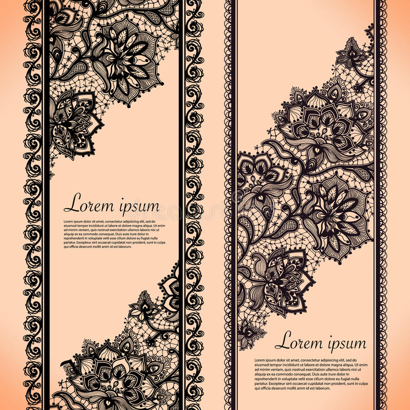 Free Lace Banners Stock Image - 40924691